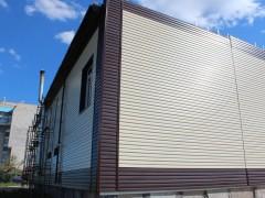 Фасадные работы сайдингом от компании EST.kz