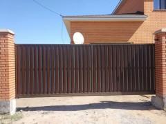 забор, евроштакетником  - фото est.kz