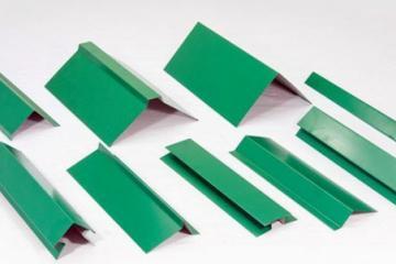 Доборные элементы для кровли зеленые